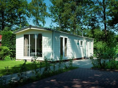Photo for Chalet in a beautiful area and in a holiday park with many facilities.