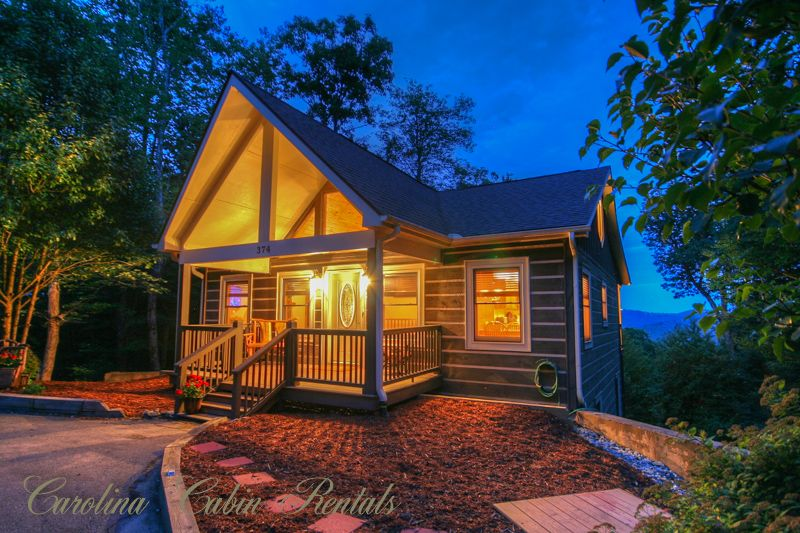 Mountain cabin on app ski mtn with big view vrbo for Cabin rentals in boone north carolina