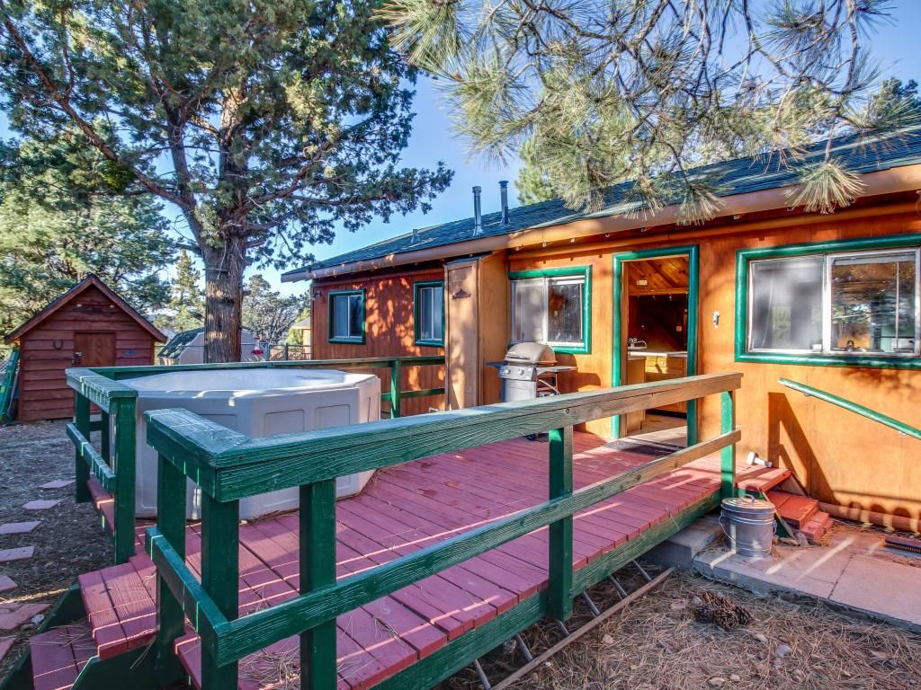 Cozy Big Bear Cabin W Private Hot Tub Bring The Dogs