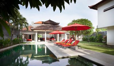 Photo for 3 Bedroom Tropical Garden Villa, Legian