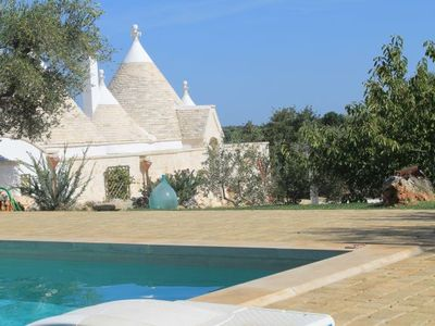 Photo for Trulli di Cristoforo charm in the heart of Salento with swimming pool and private Jarden '