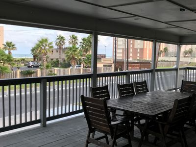 Photo for Large beach home, across street from beach, large outdoor pool and hot tub