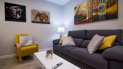 Photo for MODERN AND CENTRAL APARTMENT IN BARRIO DE ARGUELLES.