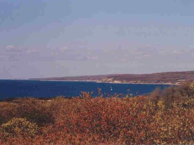 View along north shore