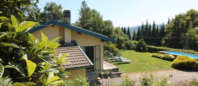 Photo for Lovely holiday home at Lake Orta with private garden and pool