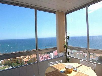 Photo for JUNE SPECIAL OFFER!  BEST VIEWS IN BENALMADENA! Great Sea Views 5 min Beach WIFI