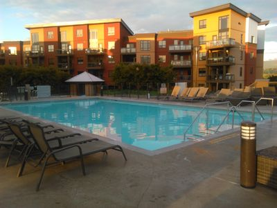 Pool Deck at Twighlight