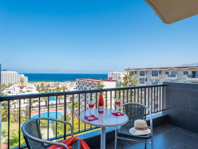 Photo for 926.AMAZING VIEW in Las Americas, seafront studio!