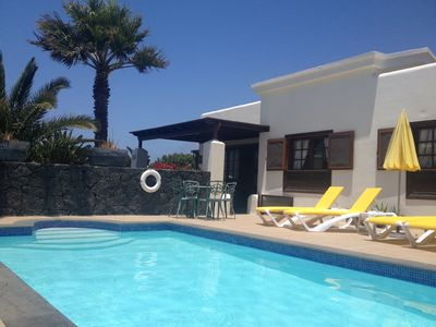 Photo for Faro Park luxury villa with pool & tots gate, wifi, June 8 to 15 £499 special