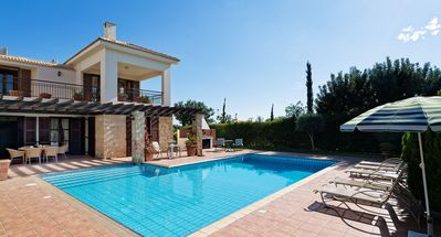 Photo for Three bedroom Villa 'Anarita' (64) with private L-shaped pool, beautiful gardens and walking distance to resort village square on Aphrodite Hi