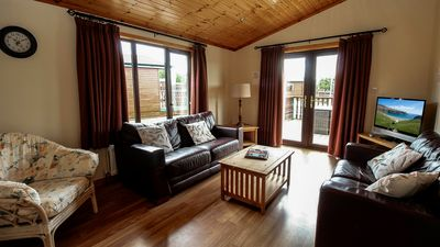 Photo for CAB19 Luxury Cabin on Mulroy Bay in Donegal. Sleeps 6.