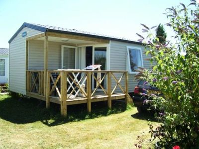 Photo for Camping l'Arada Parc - LE PLEIN AIR 3-room mobile home 4/5 people