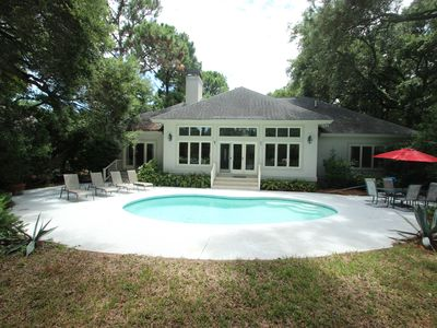Photo for Beautiful 4 Bedroom Home In Palmetto Dunes -Short Walk (1000 Yards) To Beach!