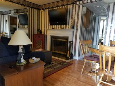Photo for Cozy Condo Downtown! Indoor Pool! Walk to Town!! Save 15% Off 7 nights or more!!