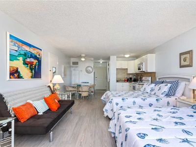 Photo for Top of the Gulf 622, Studio, WiFi, Pool Access, Sleeps 5