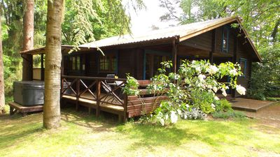 Viipuri, sleeps 7, with private SPA & terrace overlooking the Forest