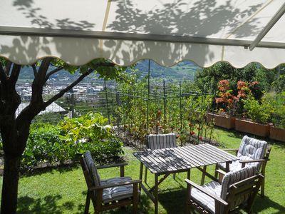 Photo for Aosta. Beautiful house, typically loft, in a stately villa, a few steps from the historic center.