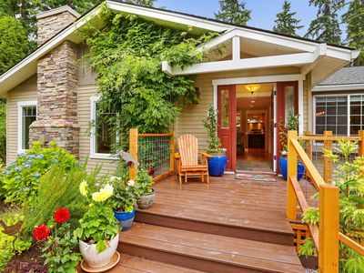 Photo for Private Woodinville District Craftsman on 1 Acre!