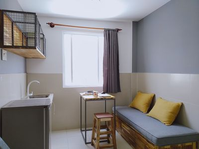 Photo for Mini apartment, 1 bed room, full furnitured, rooftop garden