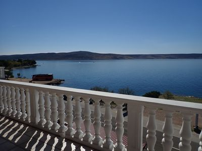 Photo for Apartments Bili-with the beautiful seaview (41539-A2) - Starigrad Paklenica
