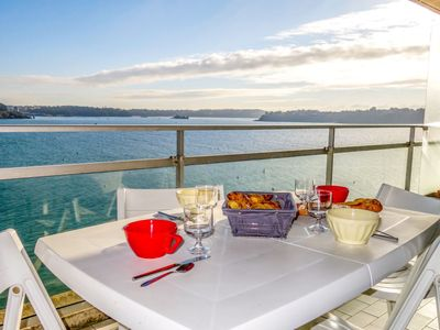 Photo for Apartment Le Bellevue in Dinard - 2 persons, 1 bedrooms