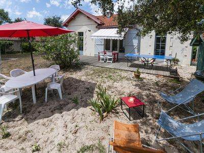 Photo for LACANAU OCEAN - Charming renovated house close to beaches and center