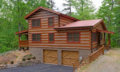 Photo for Appalachian Escape: Private/secluded~over 3 wooded nature acres~NOT a resort