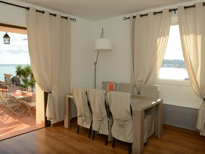 Photo for Beautiful Ramparts Apartment in the Old ANTIBES  with Terrace and Sea View