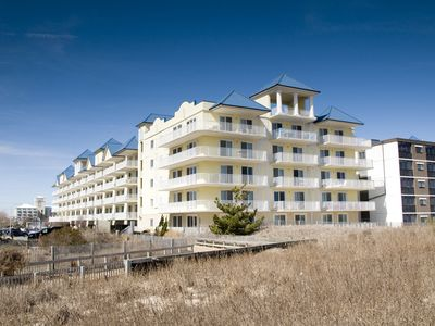 Photo for Newly-Renovated! Oceanfront Condo (Side) with Indoor Pool & Wi-Fi!