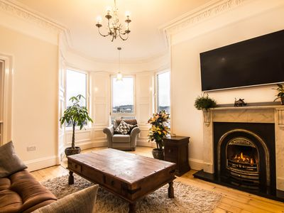 Photo for Sunny and Spacious 2 Bed Flat with Stunning Views, Lounge, Kitchen, Fireplace,