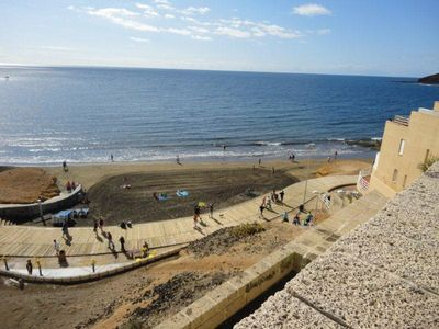 Photo for Apartment Arenas del Mar, only 2 min. to the beach, Wifi, SAT-TV, board-storage