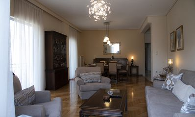 Photo for A newly renovated, beautifully decorated, 97 m2, 2 bedrooms, 2nd floor apartment