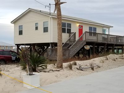 Photo for On beach living at off beach price! Dog friendly.