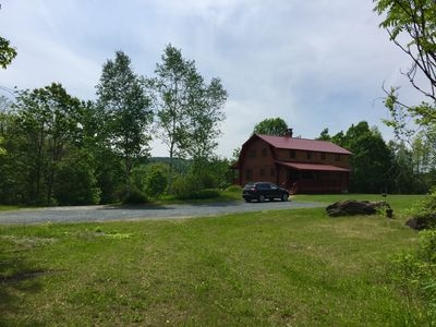 Photo for Sugar Hill Cabin in Royalton VT. Perfect for large families. Sleeps 24 in beds!