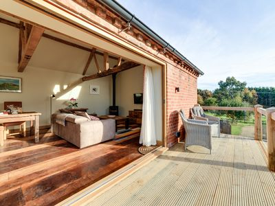 Photo for The Stables and Hayloft, a luxury romantic country holiday home