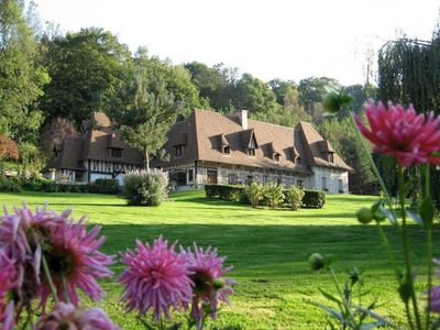 Photo for Bed and Breakfast Normandy near Pont-audemer with heated indoor pool