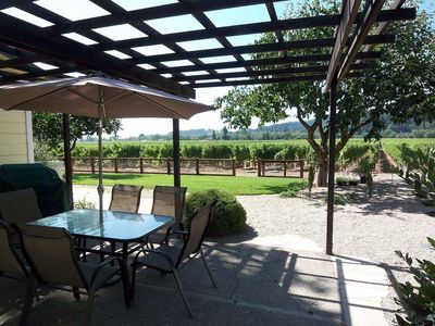 Photo for Lovely Healdsburg Vineyard Home - 3br/2ba (up to 8 guests, children welcome)