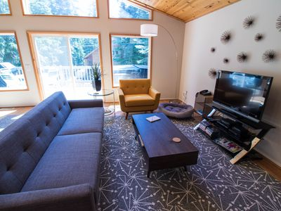 Photo for Hot tub AND Pet Friendly! Garage Parking/Gas Fireplace! Homewood Minutes Away