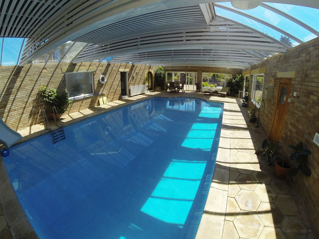 Private indoor pool  4* Gold Ground Floor Apartment in Swanage o... - HomeAway