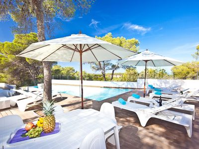 Photo for Wonderful Villa in Cala Bassa - Disinfected & Sanitized with Ozone