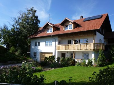 Photo for Very personal vacation apartment in typical Ostallgaeu