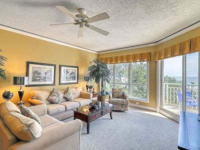 Photo for Oceanview condo with resort pools, hot tub, easy beach access & more!