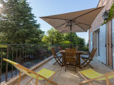 Photo for Beautiful 55m2 apartment with private terrace in charming house