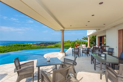 Ocean Front and  Pool Side Great Room Lanai