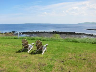 Photo for Oceanfront Cottage in Belfast