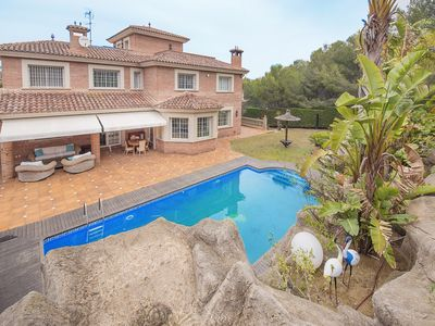 Photo for TVL_09 Exclusive beachfront villa near Tarragona for rent
