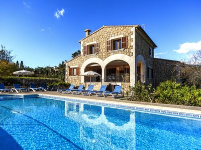 Photo for Rural Villa with pool and a view – Villa Rote