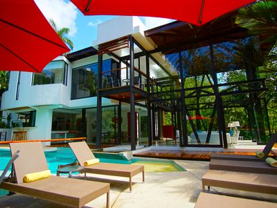 Photo for Architectural Masterpiece in Tropical Setting Near the Beach