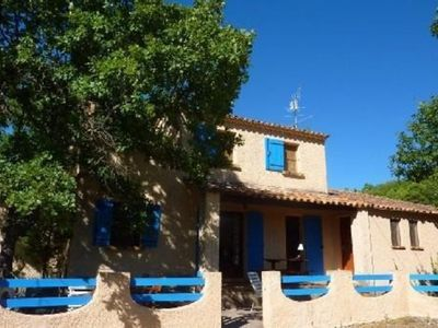 Photo for Very nice sunny holiday home, exceptional view of the Luberon