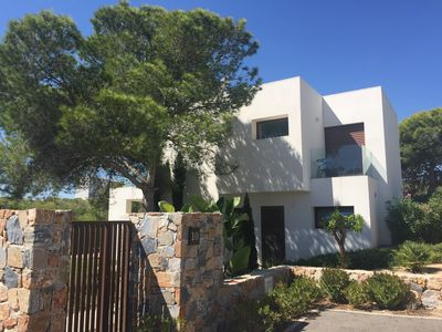Photo for Stunning 3 bed detached villa with private pool on award winning Las Colinas Gol